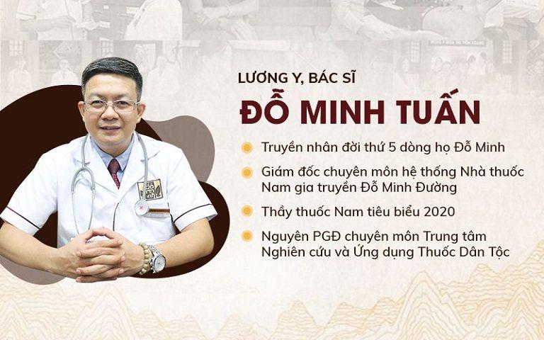 Lương y Đỗ Minh Tuấn - Thầy thuốc với hơn 15 năm kinh nghiệm