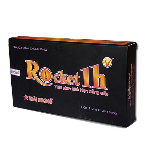 thuốc rocket 1h có tác dụng gì