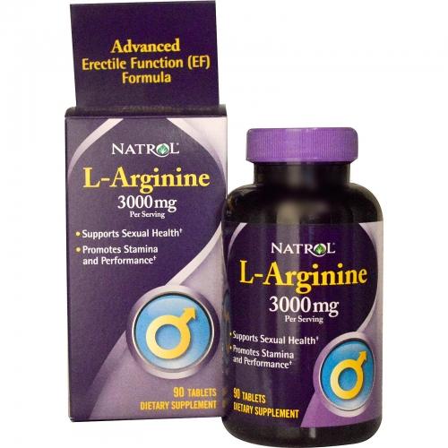 Thực phẩm chức năng L - Arginine 3000mg