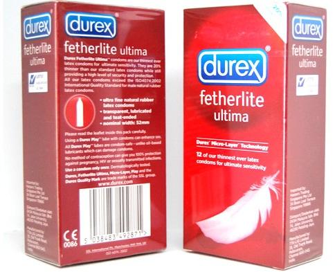 bao cao su Durex siêu mỏng