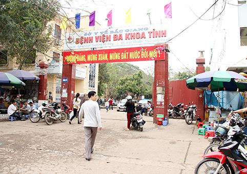 phòng khám nam khoa ở bắc giang -Bệnh viện đa khoa tỉnh Bắc Giang