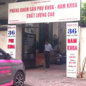 phòng khám nam khoa 36 Ngô Quyền