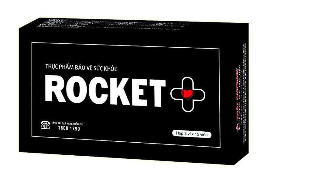 viên uống rocket+