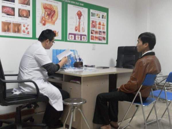phòng khám nam khoa bệnh viện đại học Y Dược 1