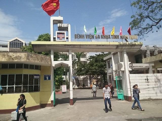 Bệnh viện Đa Khoa tỉnh Nam Định- phòng khám nam khoa uy tín ở Nam Định