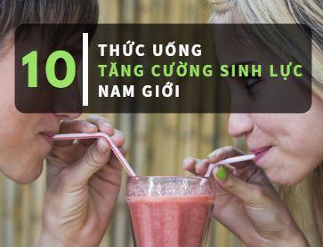 thức uống tăng cường sinh lý
