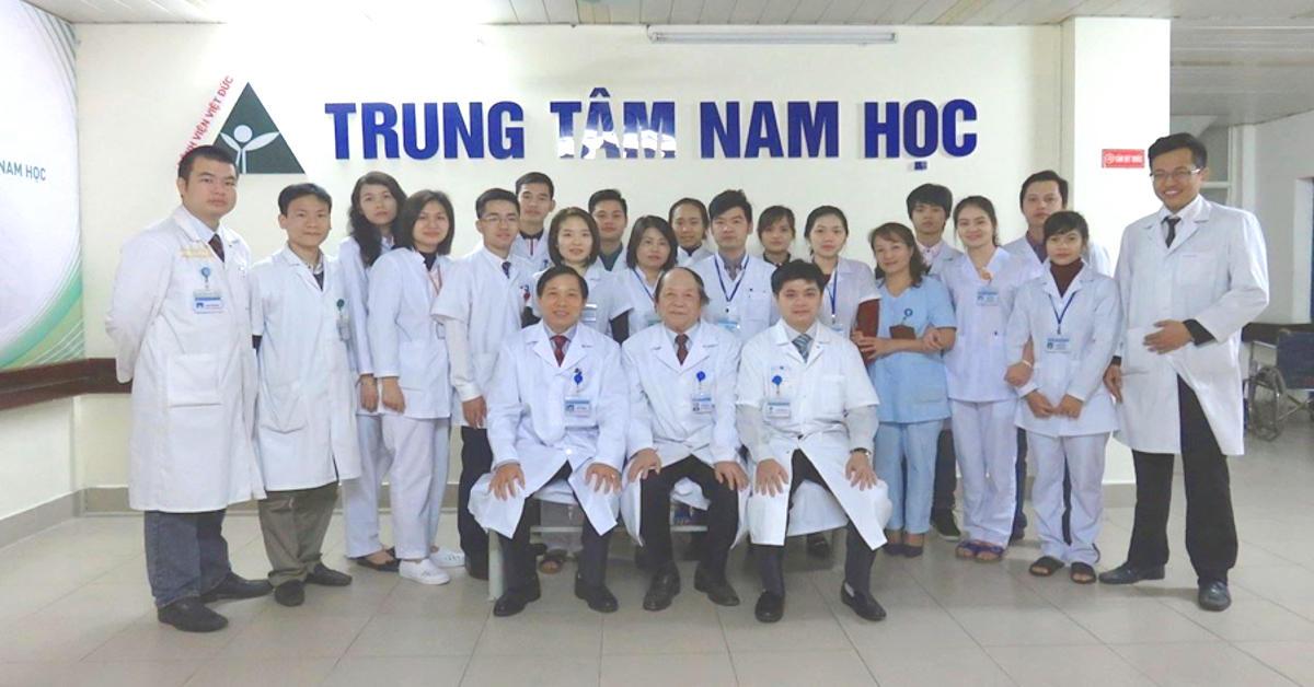 Trung tâm nam học - Bệnh viện Việt Đức