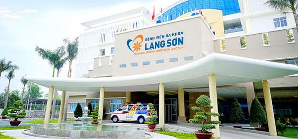 phòng khám nam khoa ở Lạng Sơn - Bệnh viện Đa khoa tỉnh Lạng Sơn