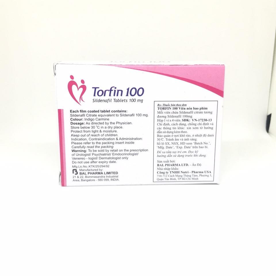 Thuốc Torfin 100