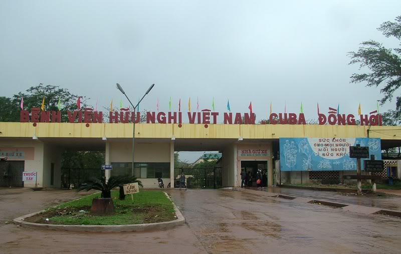 Bệnh viện Hữu nghị Việt Nam - Cu Ba, Đồng Hới - Quảng Bình