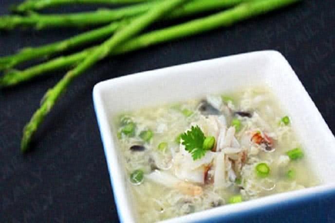 Súp cua măng tây - món ăn bổ dưỡng tốt cho tinh trùng