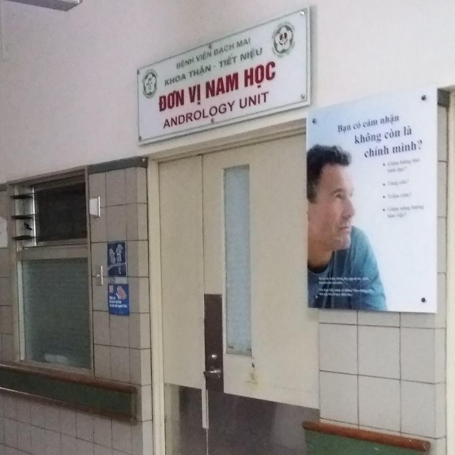 Đơn vị Nam học Bệnh viện Bạch Mai