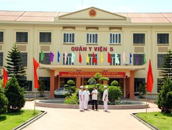 Bệnh viện Quân Y 5 - Quân khu 3 Ninh Bình