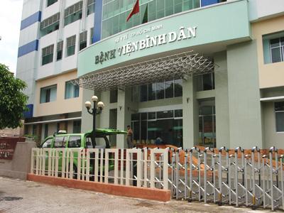 Khoa Nam học - Bệnh viện Bình Dân TPHCM