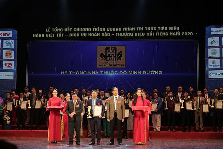 Đỗ Minh Đường được vinh danh với giải thưởng cao quý