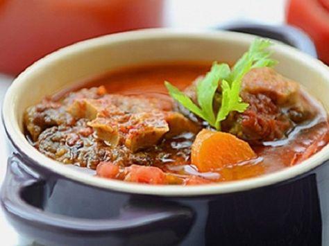 Thịt dê hầm cà rốt
