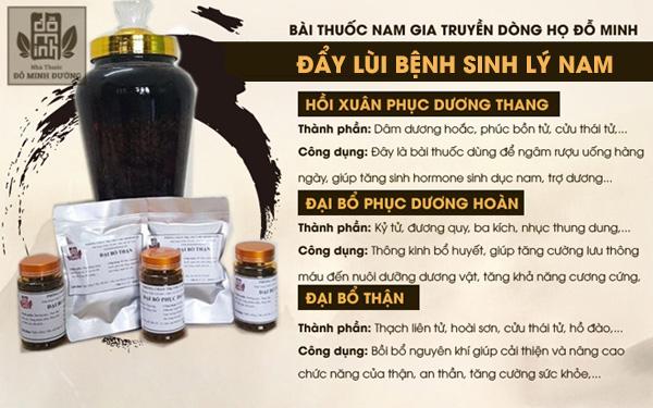 Sáng tỏ bài thuốc điều trị yếu sinh lý của Nhà thuốc Đỗ Minh Đường
