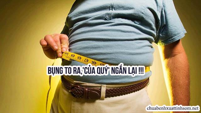 giảm cân giúp tăng kích cỡ cậu nhỏ tự nhiên