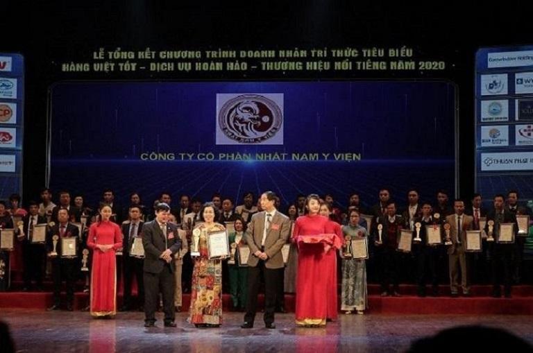 Nhất Nam Y Viện được vinh danh với giải thưởng cao quý