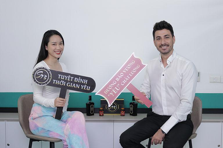 Cặp đôi gái việt trai Tây anh Hamid Reza và chị Huế Nguyễn